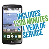 "LG Premier 5.3"" Android TracFone with 1200 Minutes/Texts/Data, Triple Minutes for Life"