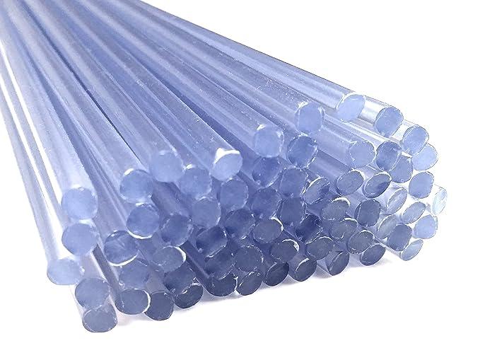Alambre de soldadura de plástico PVC-U duro 4mm Redondo Transparente ...