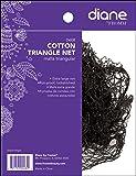 Diane Cotton Triangle Net, Black