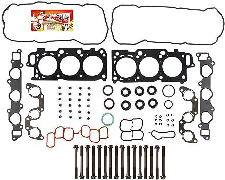 Fits 04-10 Toyota Sienna Camry Lexus RX400H 3.3L Full Gasket Set Bolts 3MZFE