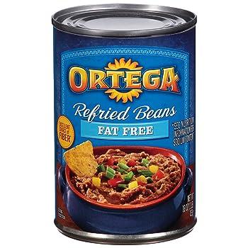ORTEGA 16-Ounce Canned Refried Bean