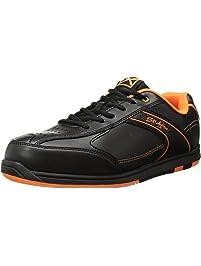 KR Strikeforce Mens Flyer Bowling Shoes- Black/Orange