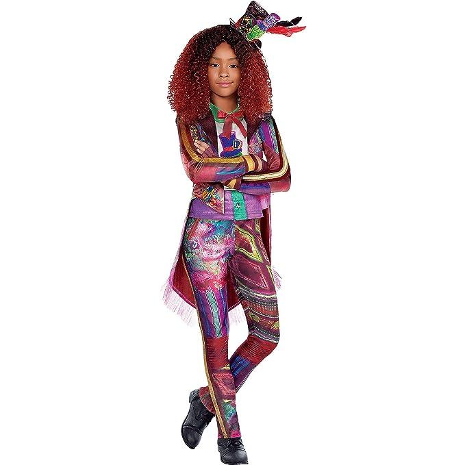 Party City Celia Halloween Costume for Girls, Descendants 3, Includes  Accessories