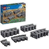 LEGO 60205 City Trains Trein Rails 20 Stuks Uitbreidingsset