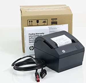 HP FK224AA POWEREDUSB Thermal Receipt Printer Monochrome Direct Thermal UP to 74 L