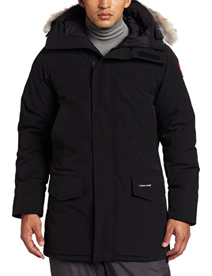 Canada Goose Men's Langford Parka,Black,Small