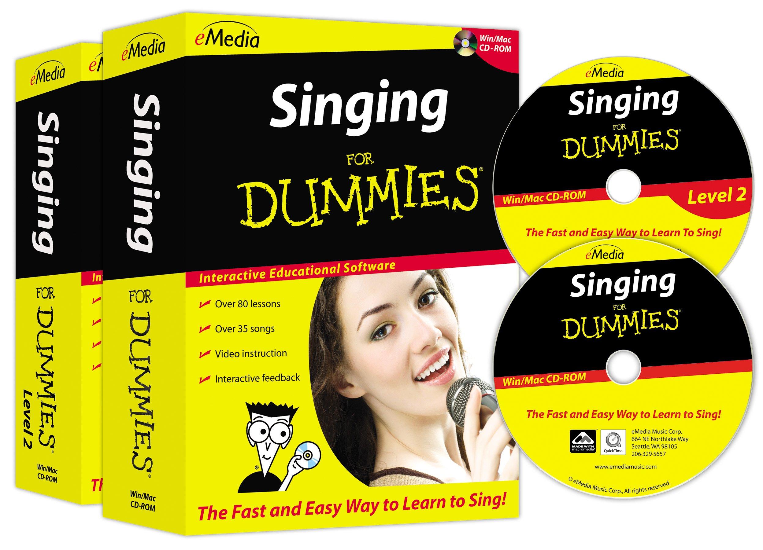eMedia Singing For Dummies Deluxe (2 volume set)