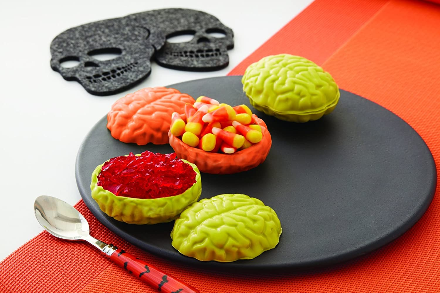 You can buy theWilton Brains Halloween Candy Mold here