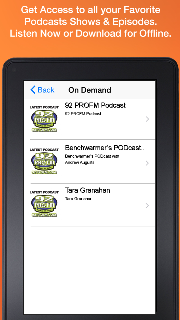 Amazon 92 PRO FM Appstore For Android