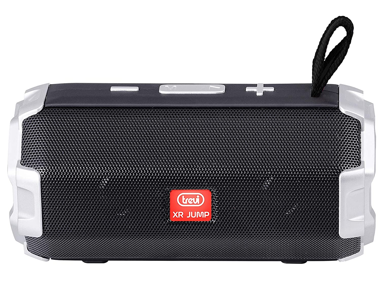 Batteria Ricaricabile Grigio MicroSD Bluetooth Trevi XR JUMP XR 8A20 Altoparlante Speaker Amplificato con MP3 USB Funzione TWS