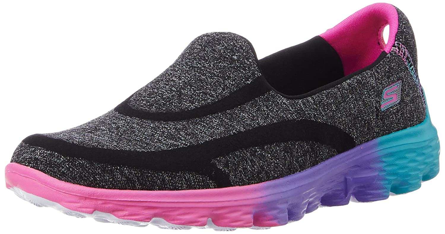 Skechers Kids Go Walk 2 Sweet Socks Athletic Sneaker (Little Kid/Big Kid) 81052L