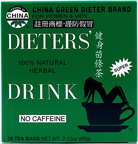 Uncle Lees Tea Dieters Tea for Weight Loss 30 Bags, 2.12oz 60g – Pack of 2