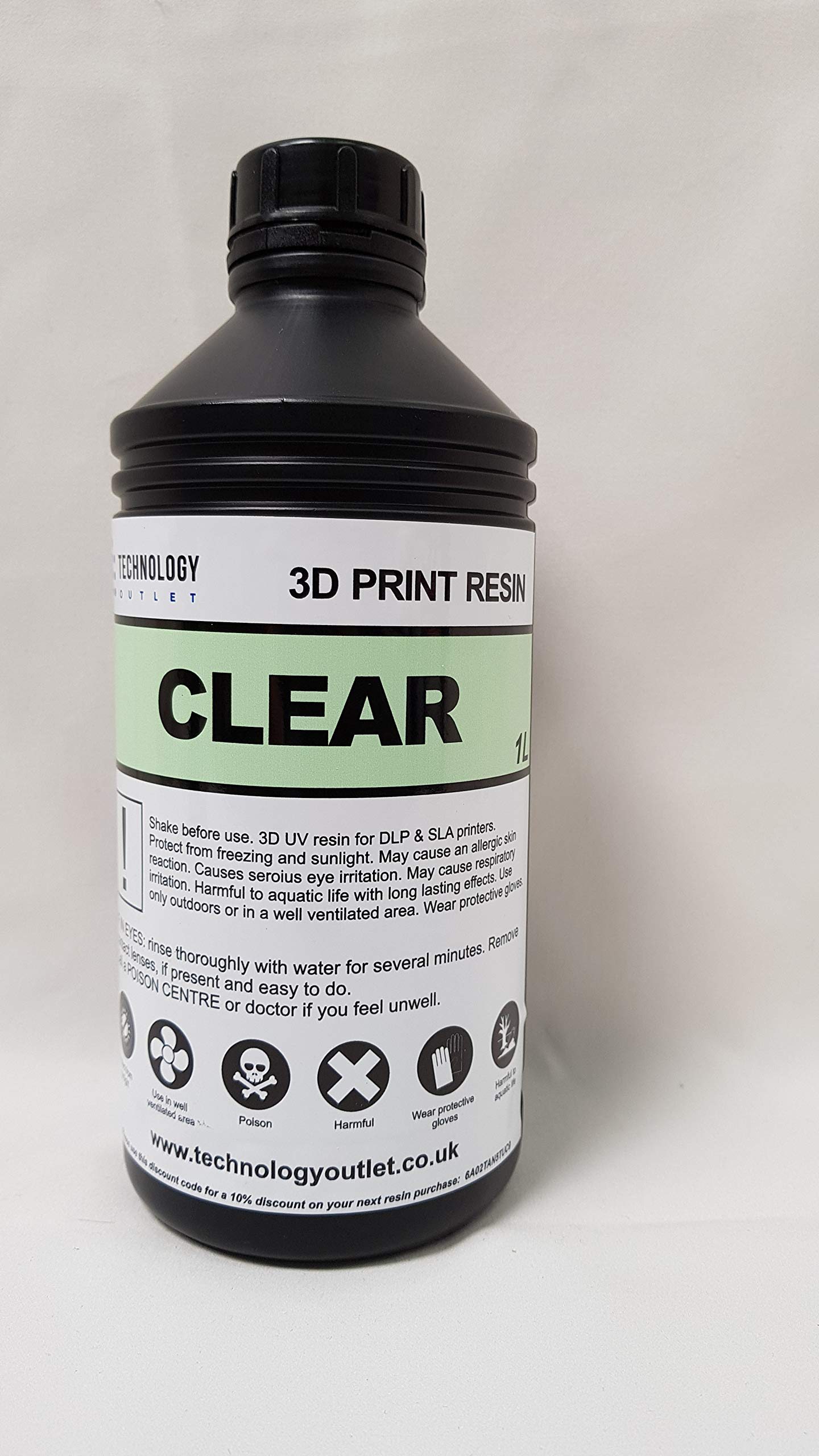 120mm with 1 Free technologyoutlet 1ltr Resin LD-001 70 Official Creality 3D LCD Printer Ultra Precision with 3.5 Smart Touch Color Screen Wifi Off-Line Printing Size 120