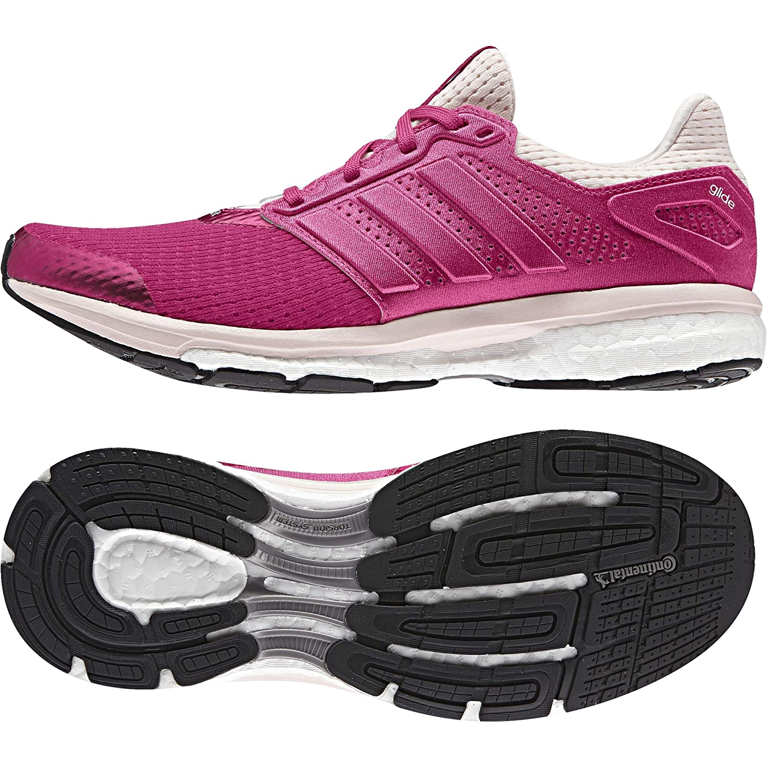 48af0eea8 adidas Women s Supernova Glide 8 W Running Shoes  Amazon.co.uk  Shoes   Bags