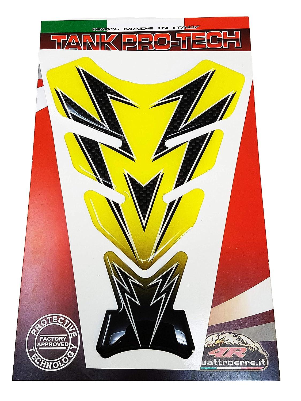 Quattroerre 18228/Protections r/éservoir moto universels couleur jaune