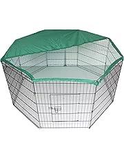 BUNNY BUSINESS Bunny/coniglio/Guinea Pig/Cane/cucciolo/gatto/Box Pen Custodia Run gabbia con copertura della rete, da 55 pollici