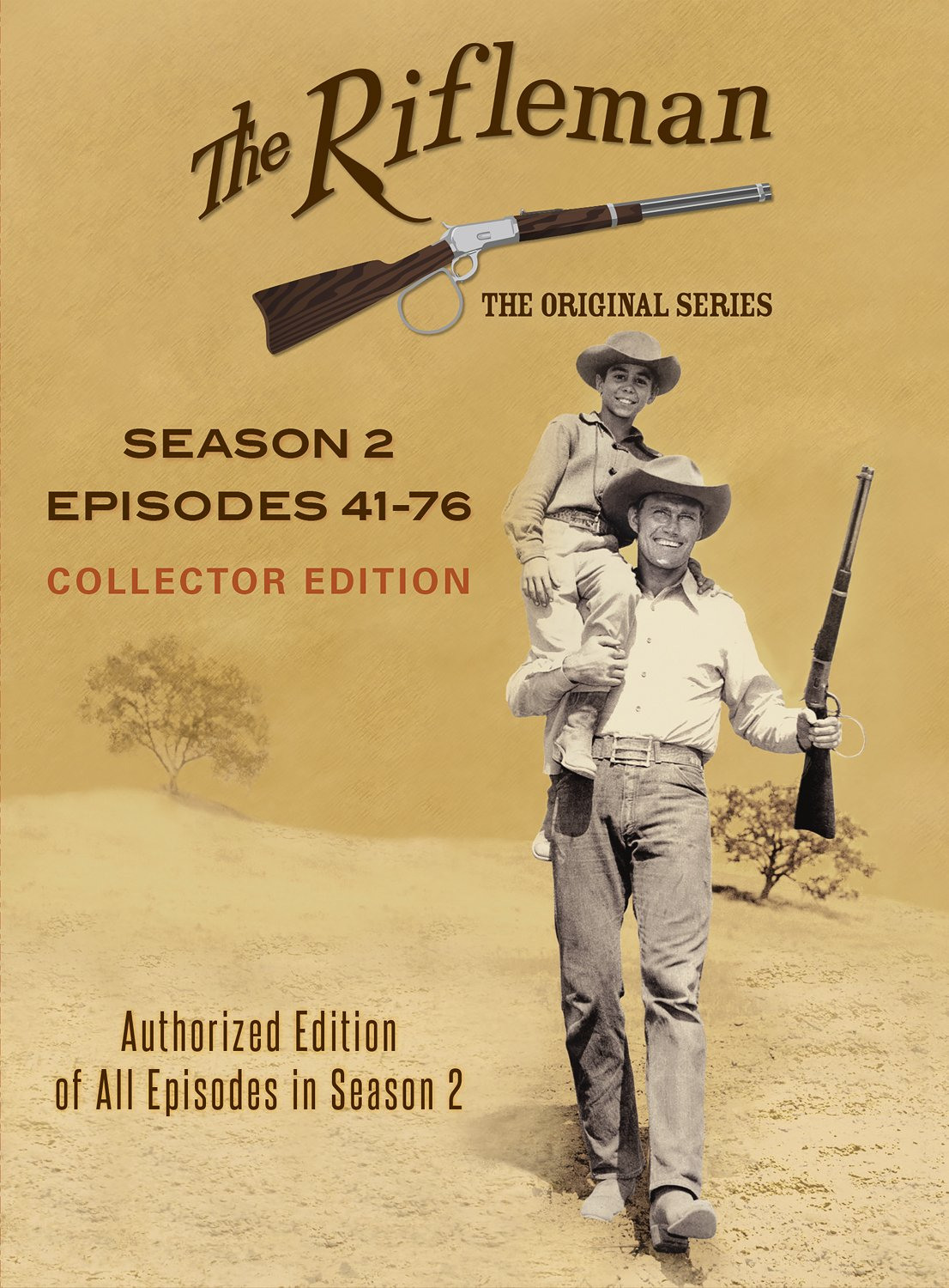 The Rifleman Official Season 2 (Episodes 41 - 76) by Levy-Gardner-Laven Productions, Inc.