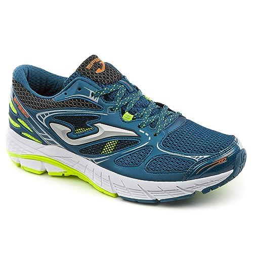 Joma Sport - Zapatillas de Running de Lona para Hombre Negro Petrolio: Amazon.es: Zapatos y complementos