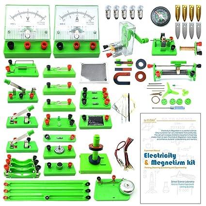 Amazon com: EUDAX School Physics Labs Basic Electricity