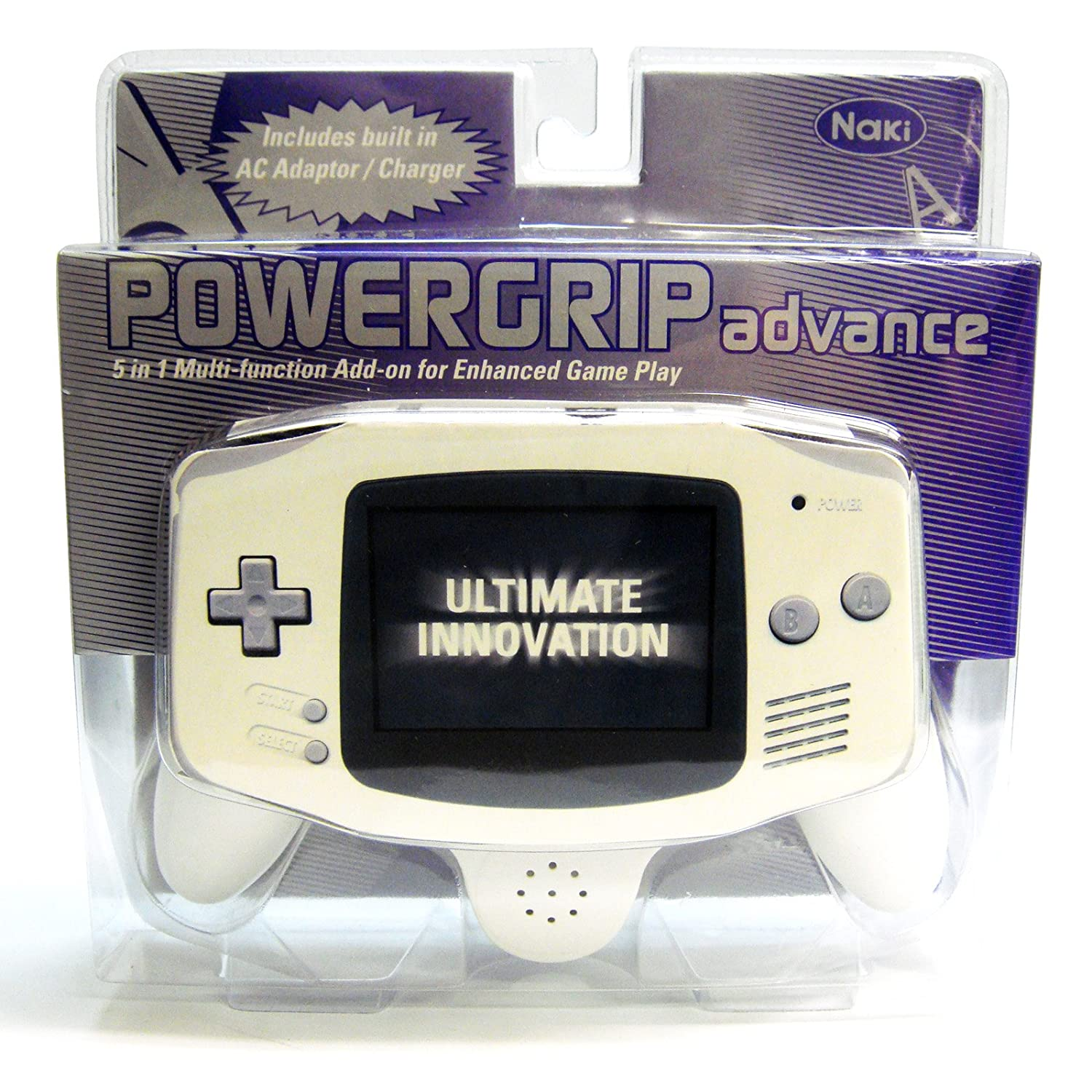 Powergrip Advance 5-in-1 Add-on for Game Boy Advance: Video Games