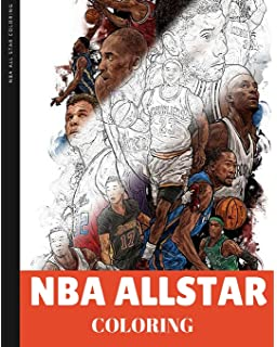 amazon com nba basketball coloring books toys games
