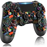 LITTJOY For PS4 Controller, Wireless Controller for Playstation 4,with Dual Vibration/Stereo Headset Jack/Touch Pad / Six-axi