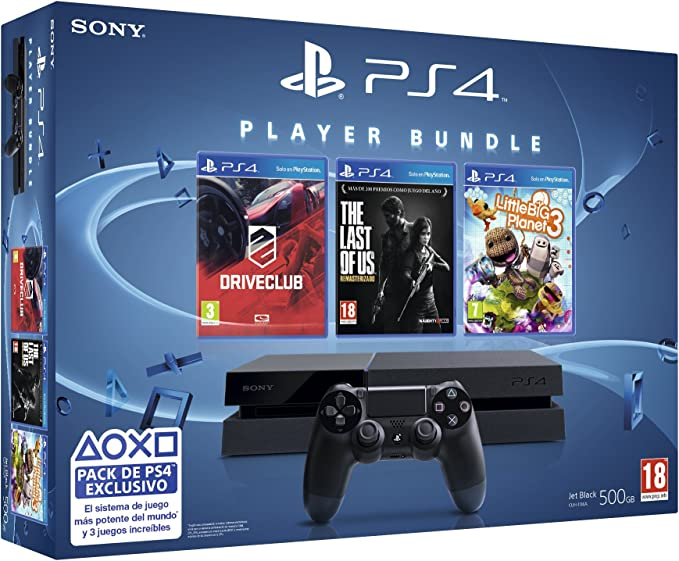 PlayStation 4 - Consola + Triple Pack (LittleBigPlanet 3 + The ...