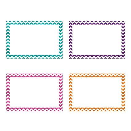 amazon com top notch teacher products border blank index cards 75