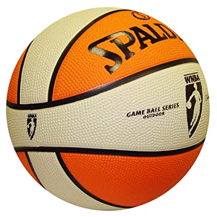 Amazon.com: Spalding WNBA Game Balón de baloncesto: Sports ...