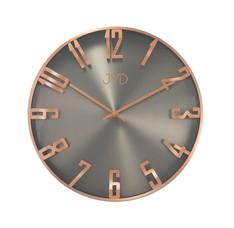 Wanduhr Uhr Design Rosegold Grau Wohnzimmeruhr Wohnzimmeruhr Wohnzimmeruhr gut lesbar Esszimmer NEU d60815