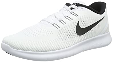 buy popular 0a171 b166f Nike Free RN, Herren Laufschuhe, Weiß (WhiteBlack), 41 EU