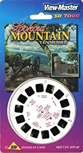 Lookout Mountain, Tennessee - Classic ViewMaster - 3 Reels on Card- New
