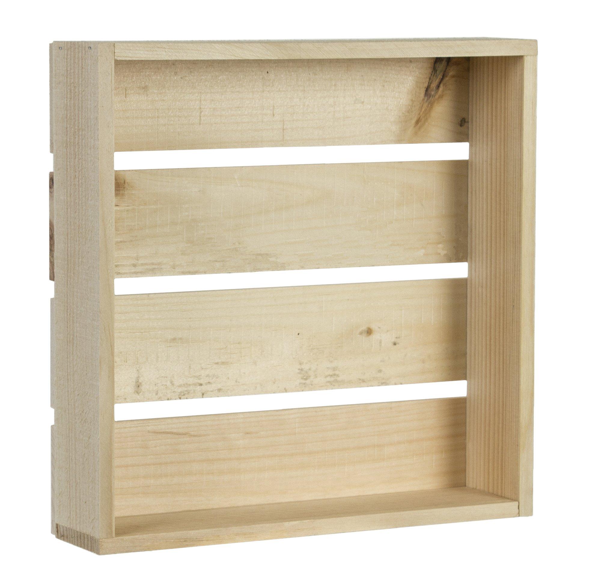 Walnut Hollow Rustic Shadow Box, 11-1/2 by 11-1/2 by 2-5/8-Inch
