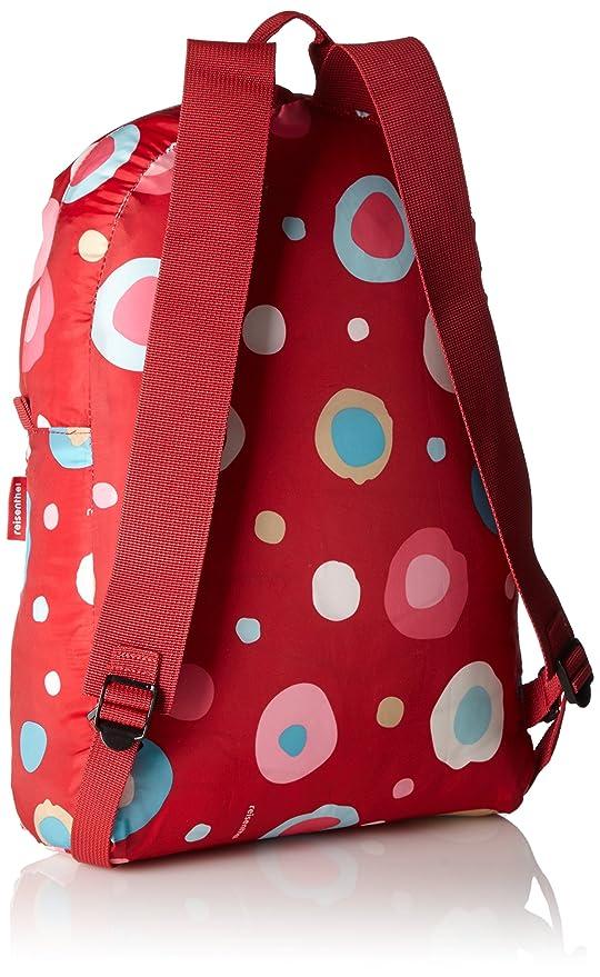 Reisenthel Mini Maxi Sac à dos, sac de voyage pliable Motif pois Rouge AP3048 2
