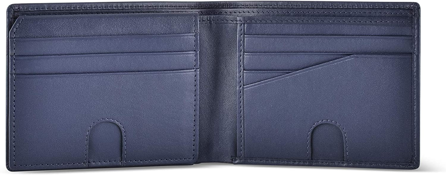 RFID Blocking Wallet for MenMade with #1 Grade Napa Genuine LeatherFine...