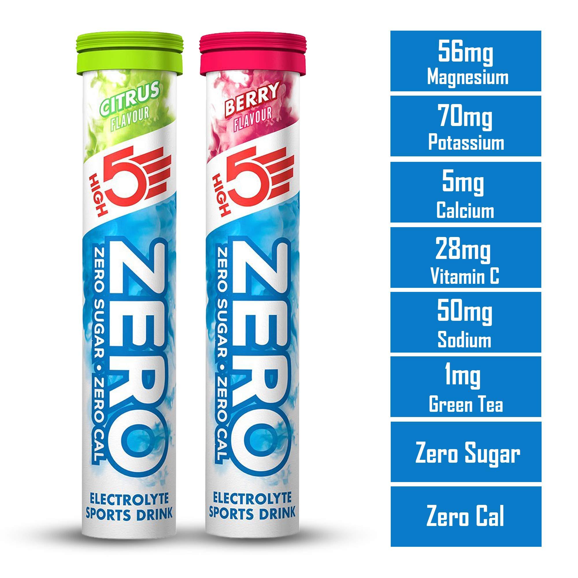 20-count High5/Sports Nutrition zero Citrus Tablets
