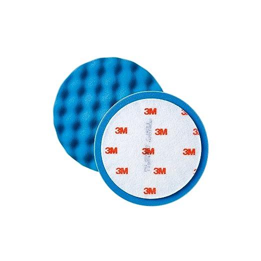 2 opinioni per 3M 50388 Perfect-It Spugna Ondulata, Blu, Diametro 150 mm, 2 Pezzi