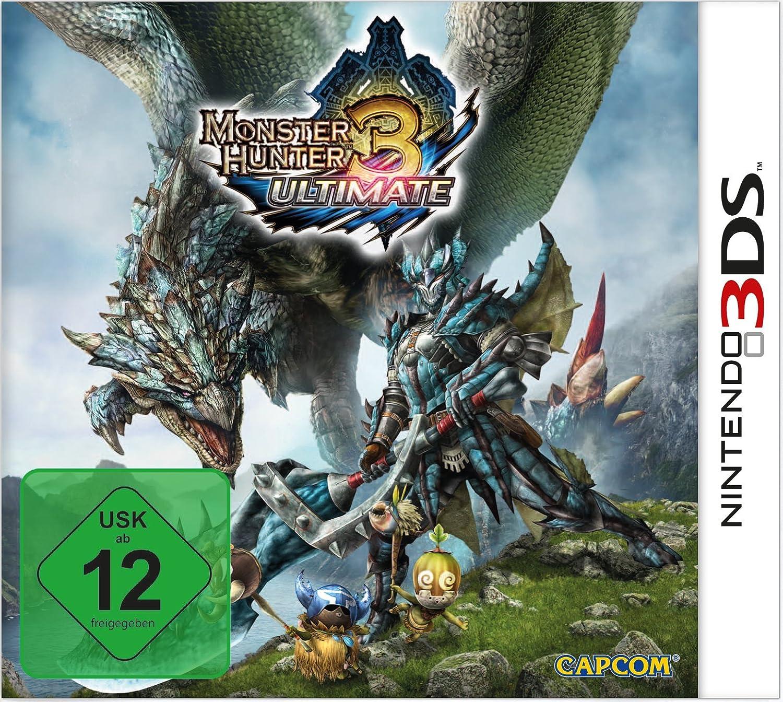 Monster Hunter 3 Ultimate Nintendo 3ds Amazon De Games