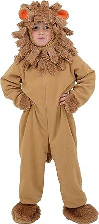 Little Babas 140312 - Disfraz de leon para niño de 4-5 años ...