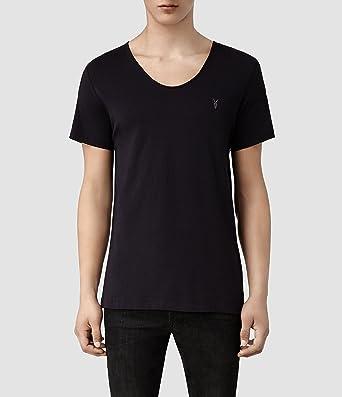 81244f595173 AllSaints Men's Tonic Scoop T-Shirt X-Large Ink: Amazon.co.uk: Clothing