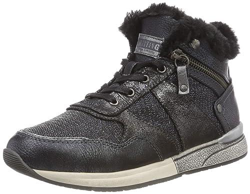 Mustang High Top Sneaker, Zapatillas Altas para Mujer: Amazon.es: Zapatos y complementos