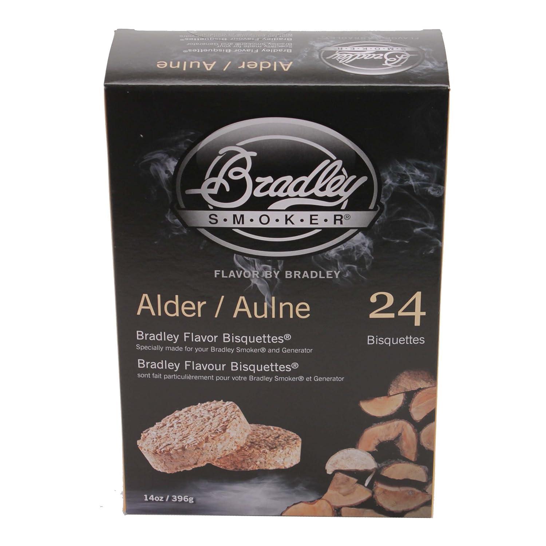 Bradley Smokers BTAL24 Alder Bisquettes Smoker, 24-Pack