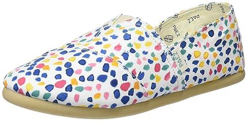 Paez Original-Print White, Alpargatas para Mujer: Amazon.es: Zapatos y complementos