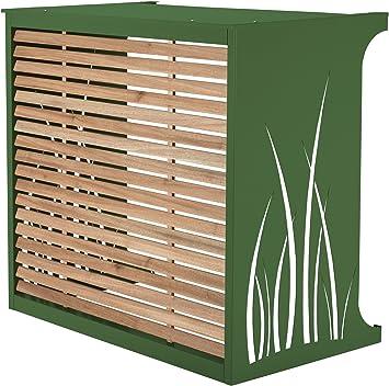 Caja para Esconder Aire Acondicionado - Modelo Pequeño de Aluminio, verde: Amazon.es: Bricolaje y herramientas