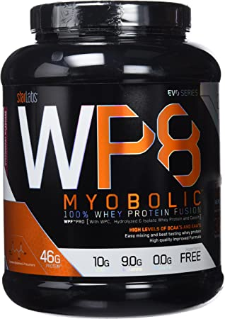 Starlabs Nutrition WP8 Myobolic 2.0 Proteína, Batido de Fresa- 908 g