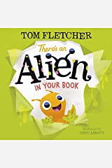 There's an Alien in Your Book Hardcover