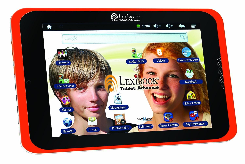 LEXIBOOK 20,3 cm tablet Advance bambini in versione inglese