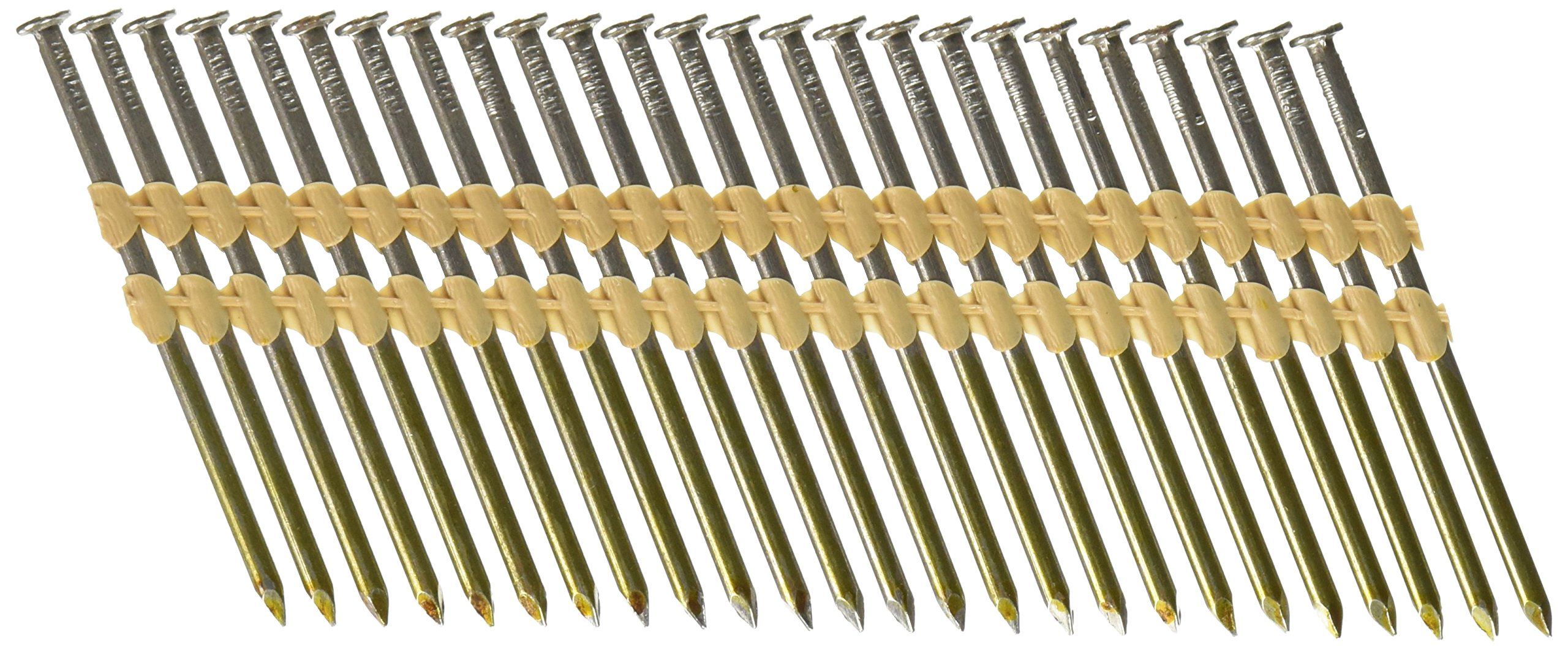 Hitachi 20138S Hitachi 20138S 3-1/4-in x .148 Bright Smooth Shank Plastic Collated Nails,