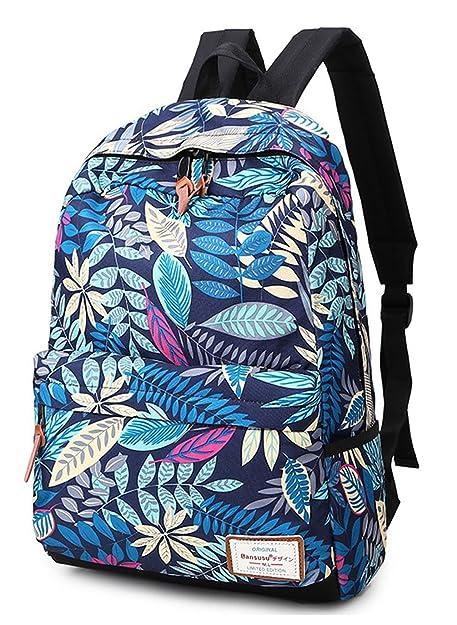 OULINBEIN Cool College School Laptop Mochila Pack con patrón de hermosos hecho de Dacron Multicolor1 1: Amazon.es: Zapatos y complementos