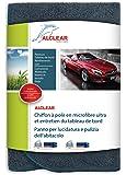 ALCLEAR A257343 - Panno in microfibra Ultra per lucidatura e pulizia del cruscotto, 40 x 40 cm, colore: Antracite